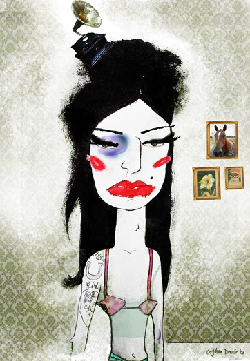 AMY / Mixed Media