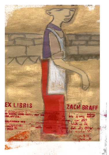 EXLIBRIS ZACH BRAFF / Mixed Media, CRD